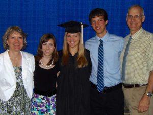 Diane's Drake graduation